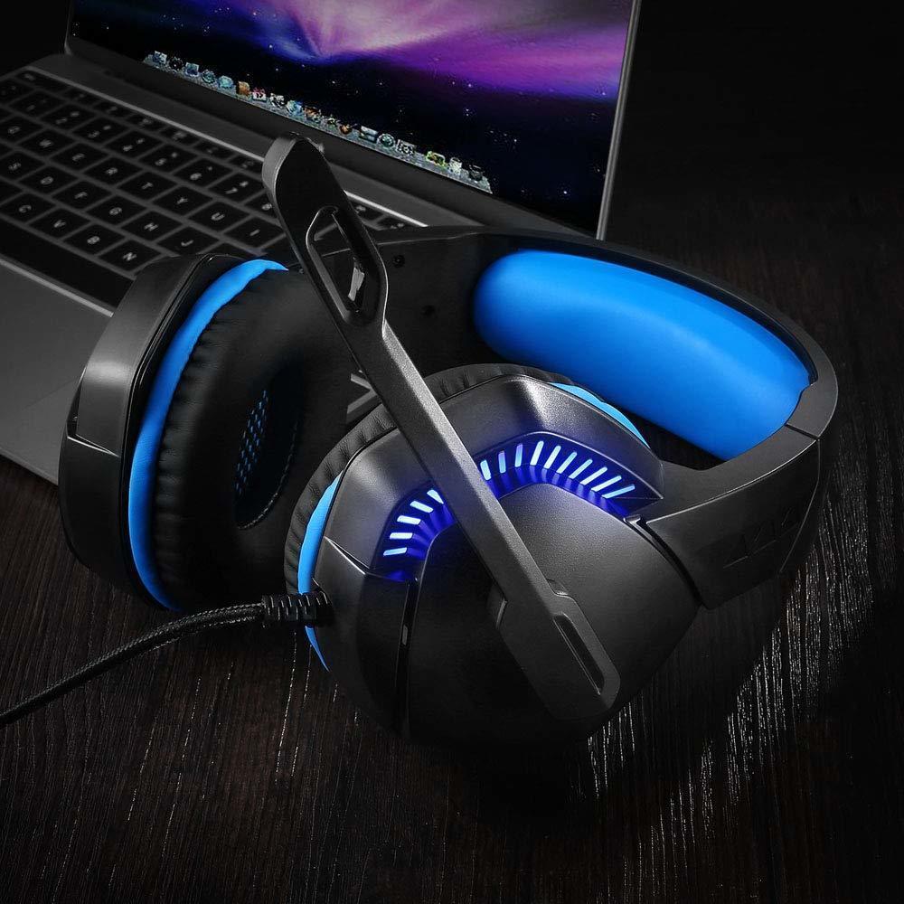 ゲーミングヘッドホン マイク付 ヘッドフォン PS4ゲーミングヘッドセット FPS PC PS4 有線 3.5mmアダプタケーブル_画像3