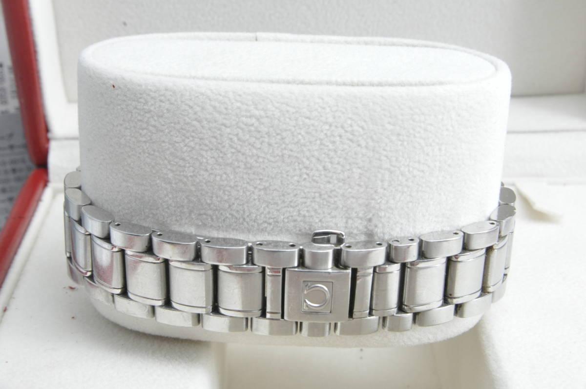 #3744 OMEGA 3513.80 スピードマスター 日本限定 青文字盤 クロノグラフ 自動巻き 腕時計 オメガ Speedmaster_画像5