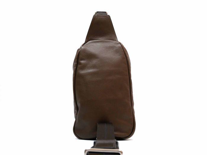 【極美品】コーチ COACH トンプソン スリングパック レザー ショルダーバッグ メンズ ブラウン 定価約7万円_画像4