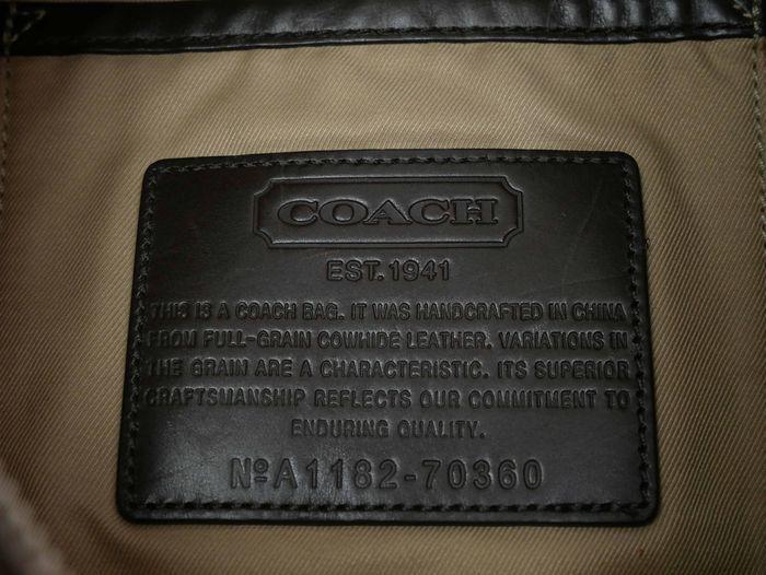 【極美品】コーチ COACH トンプソン スリングパック レザー ショルダーバッグ メンズ ブラウン 定価約7万円_画像10