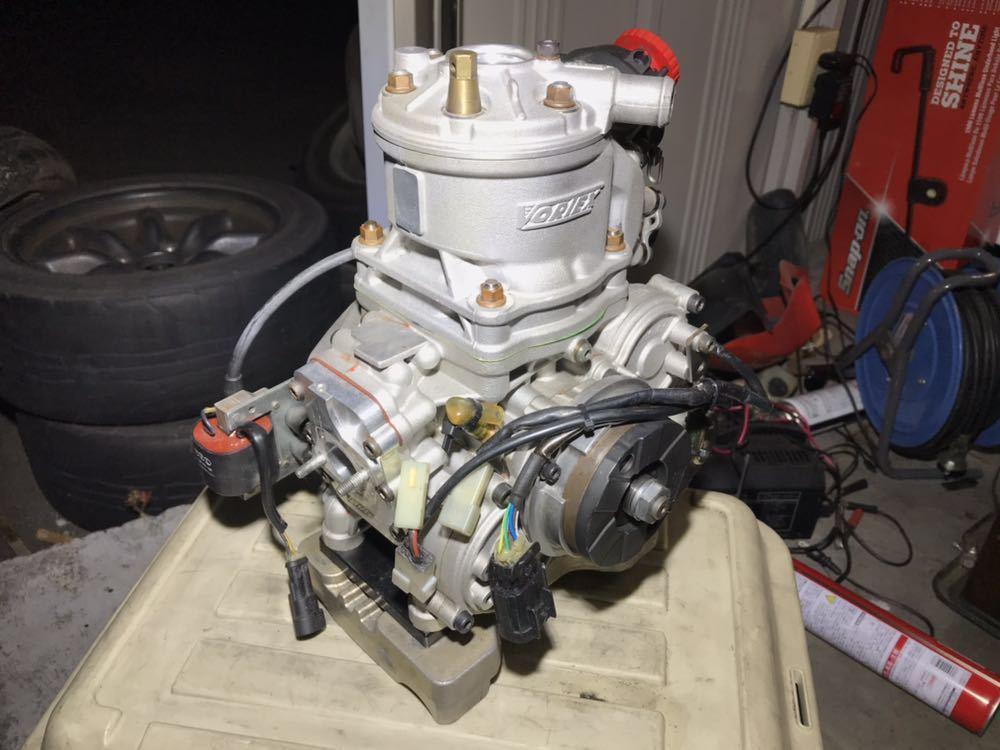 レーシングカート ボルテックス スーパーKFチューニングエンジン 難あり