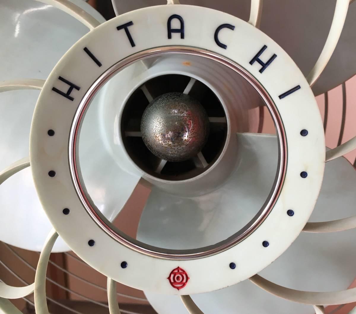 HITACHI 日立 扇風機 M-6036B アンティーク レトロ 動作品!!_画像3