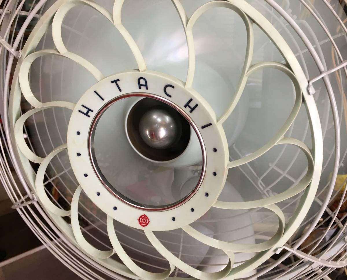 HITACHI 日立 扇風機 M-6036B アンティーク レトロ 動作品!!_画像4