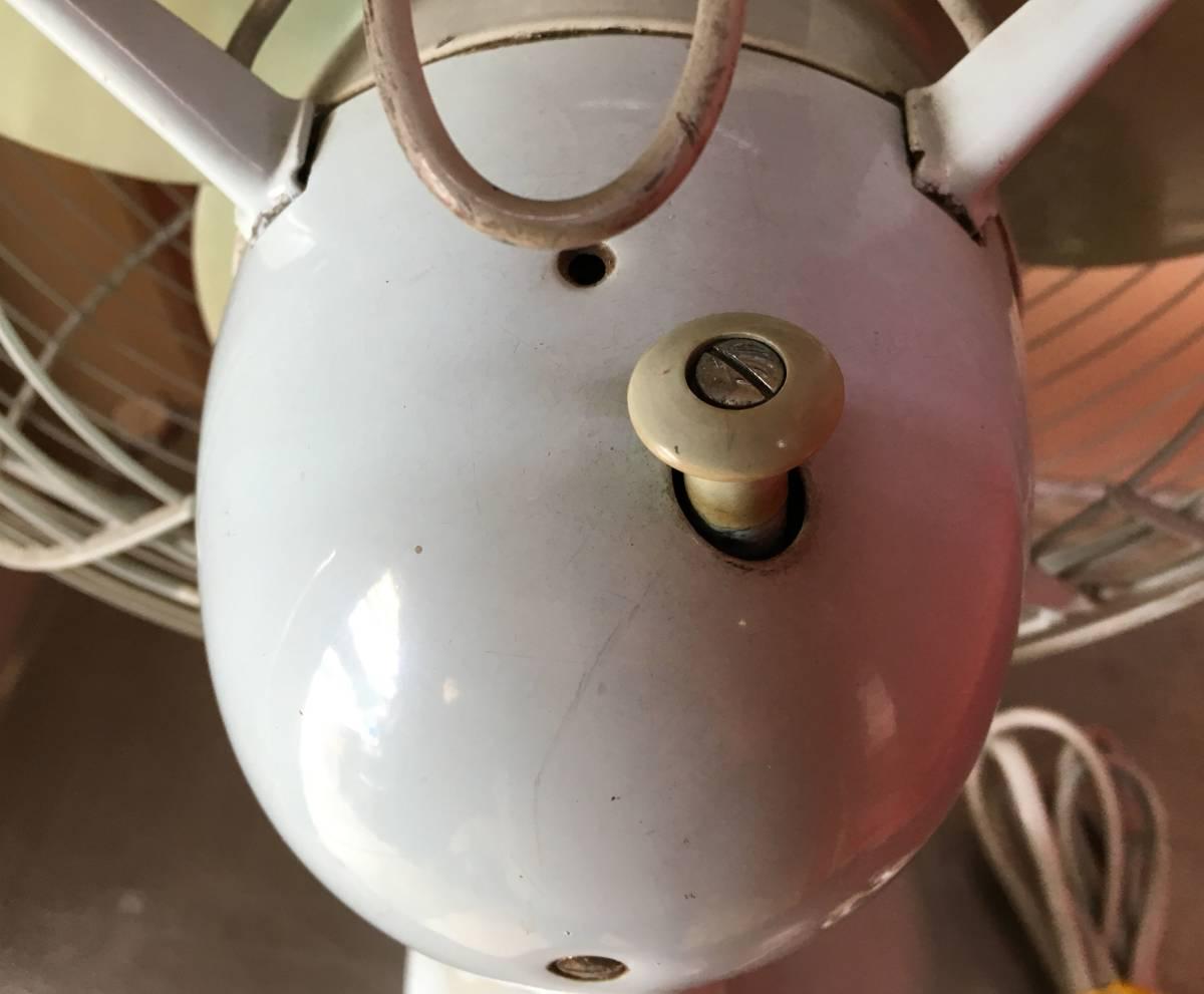 HITACHI 日立 扇風機 M-6036B アンティーク レトロ 動作品!!_画像8