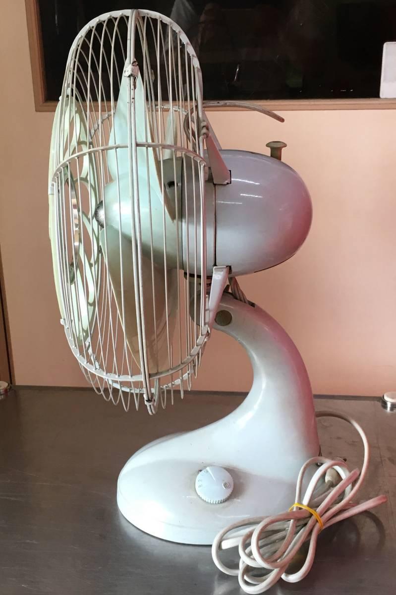 HITACHI 日立 扇風機 M-6036B アンティーク レトロ 動作品!!_画像6