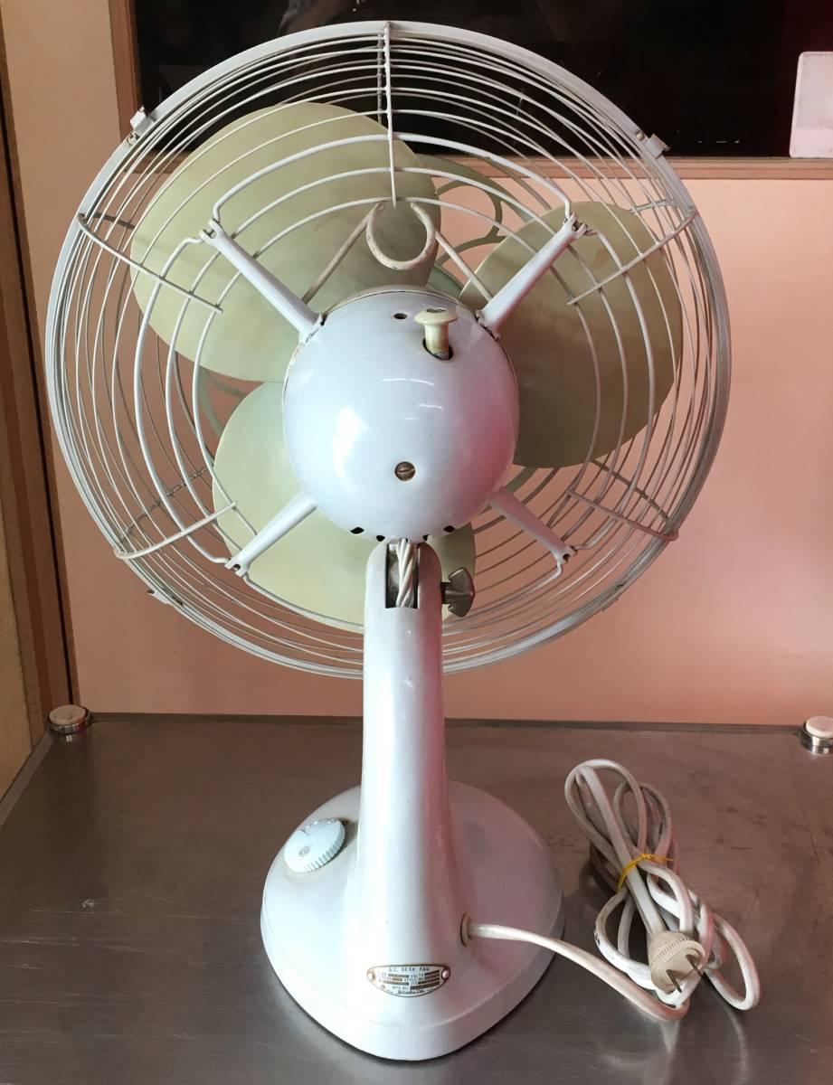 HITACHI 日立 扇風機 M-6036B アンティーク レトロ 動作品!!_画像7