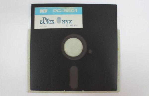 〒◇ PC-8801 ゲームソフト THE BLACK ONYX ザ・ブラックオニキス BPS 5インチ 【ジャンク】 ◇MHD6747_画像4