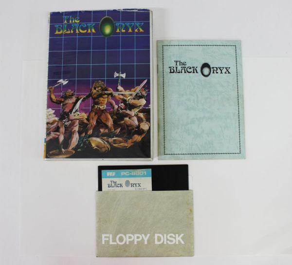 〒◇ PC-8801 ゲームソフト THE BLACK ONYX ザ・ブラックオニキス BPS 5インチ 【ジャンク】 ◇MHD6747