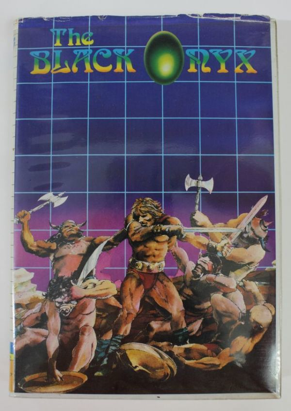 〒◇ PC-8801 ゲームソフト THE BLACK ONYX ザ・ブラックオニキス BPS 5インチ 【ジャンク】 ◇MHD6747_画像2