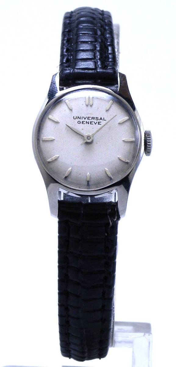 特価!ヴィンテージ1970年代製UNIVERSAL GENEVEユニバーサル ジュネーヴ手巻きレディスウォッチ_画像9