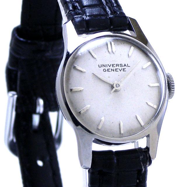 特価!ヴィンテージ1970年代製UNIVERSAL GENEVEユニバーサル ジュネーヴ手巻きレディスウォッチ_画像5