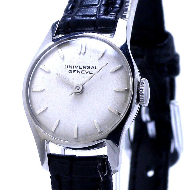 特価!ヴィンテージ1970年代製UNIVERSAL GENEVEユニバーサル ジュネーヴ手巻きレディスウォッチ_画像4