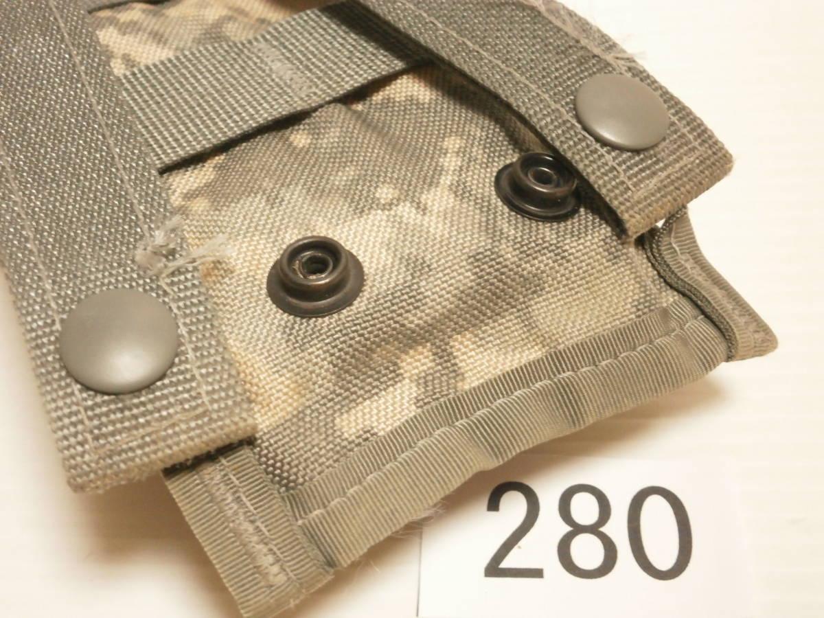 ☆280 米軍放出品 ACU M16/M4 マガジンポーチ W911QY-06-D-0003-0006_画像8