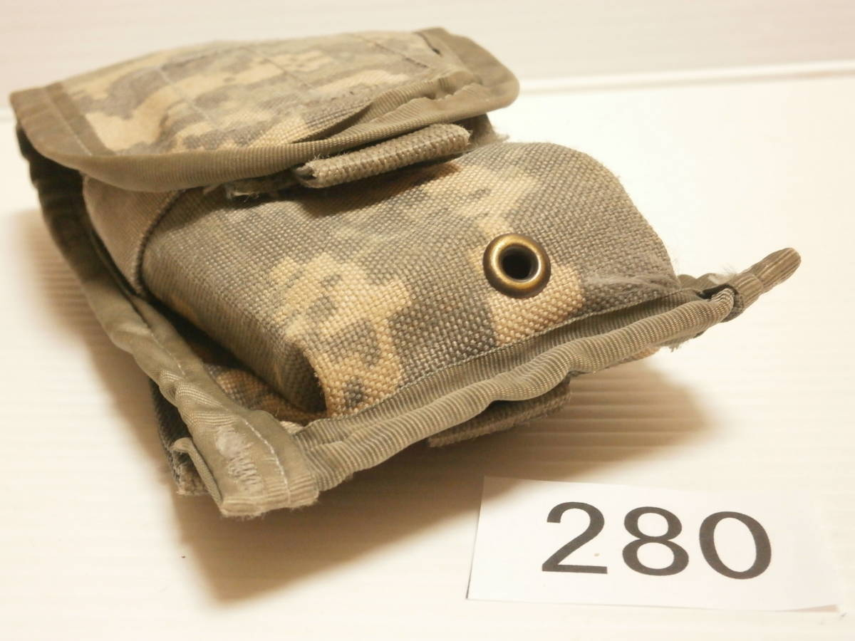 ☆280 米軍放出品 ACU M16/M4 マガジンポーチ W911QY-06-D-0003-0006_画像9