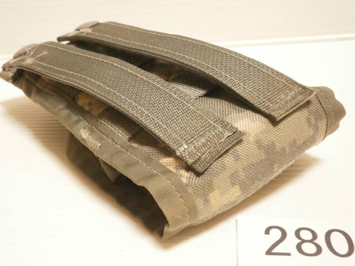 ☆280 米軍放出品 ACU M16/M4 マガジンポーチ W911QY-06-D-0003-0006_画像10
