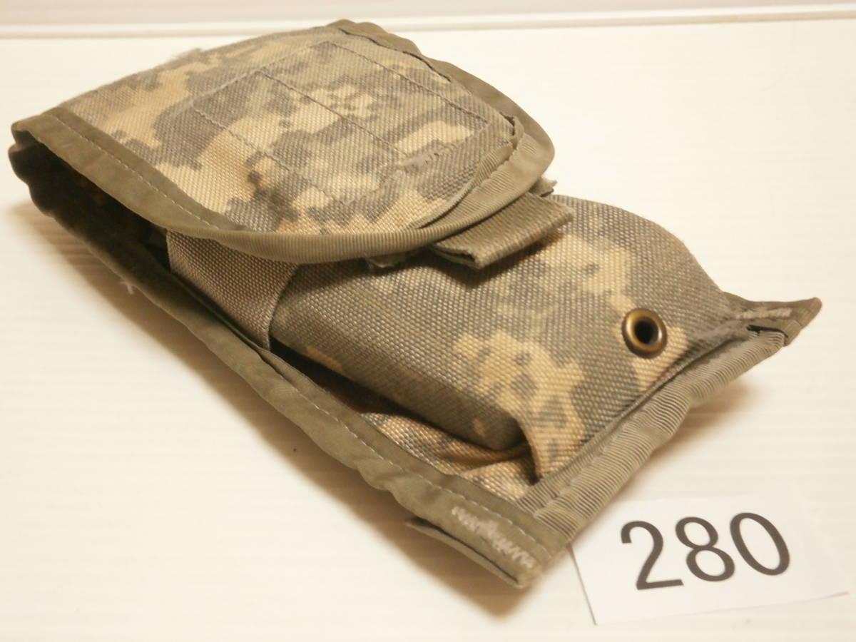 ☆280 米軍放出品 ACU M16/M4 マガジンポーチ W911QY-06-D-0003-0006_画像7