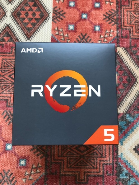 中古 AMD CPU Ryzen5 2600 BOX