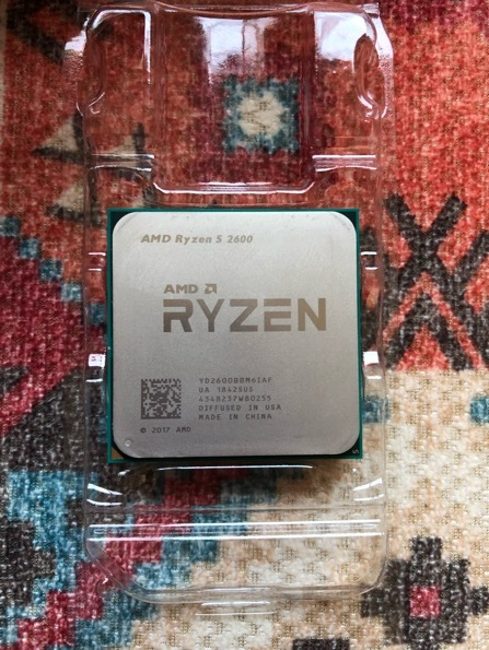 中古 AMD CPU Ryzen5 2600 BOX_画像2