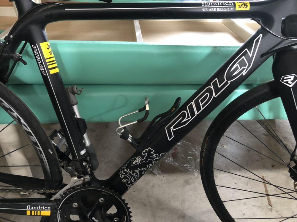 B0720らG] RIDLEY リドレー ロードバイク Helium Flandrien 2011年モデル 限定フランドルカラー カーボン_画像9