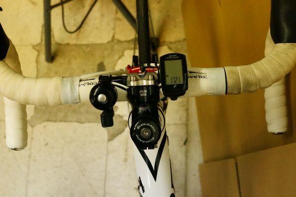 Y130ら】COLNAGO コルナゴ ACE 105 2011年モデル フレームサイズ約500mm カーボン WHTカラー_画像4