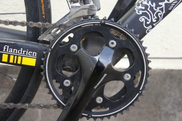 B0720らG] RIDLEY リドレー ロードバイク Helium Flandrien 2011年モデル 限定フランドルカラー カーボン_画像4