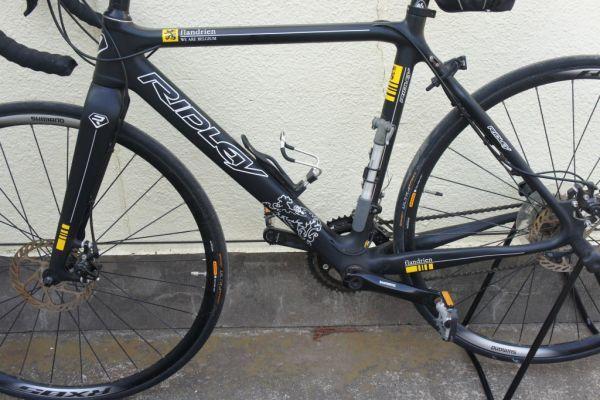 B0720らG] RIDLEY リドレー ロードバイク Helium Flandrien 2011年モデル 限定フランドルカラー カーボン_画像2