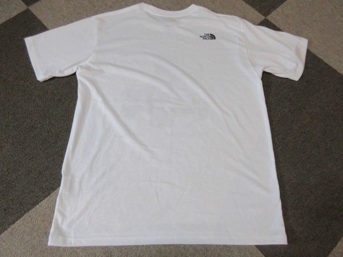 NORTH FACE ポリエステル素材 Tシャツ メンズM 四駆 ゴールドウィン アウトドア クライミング キャンプ カットソー カヌー 速乾_画像2
