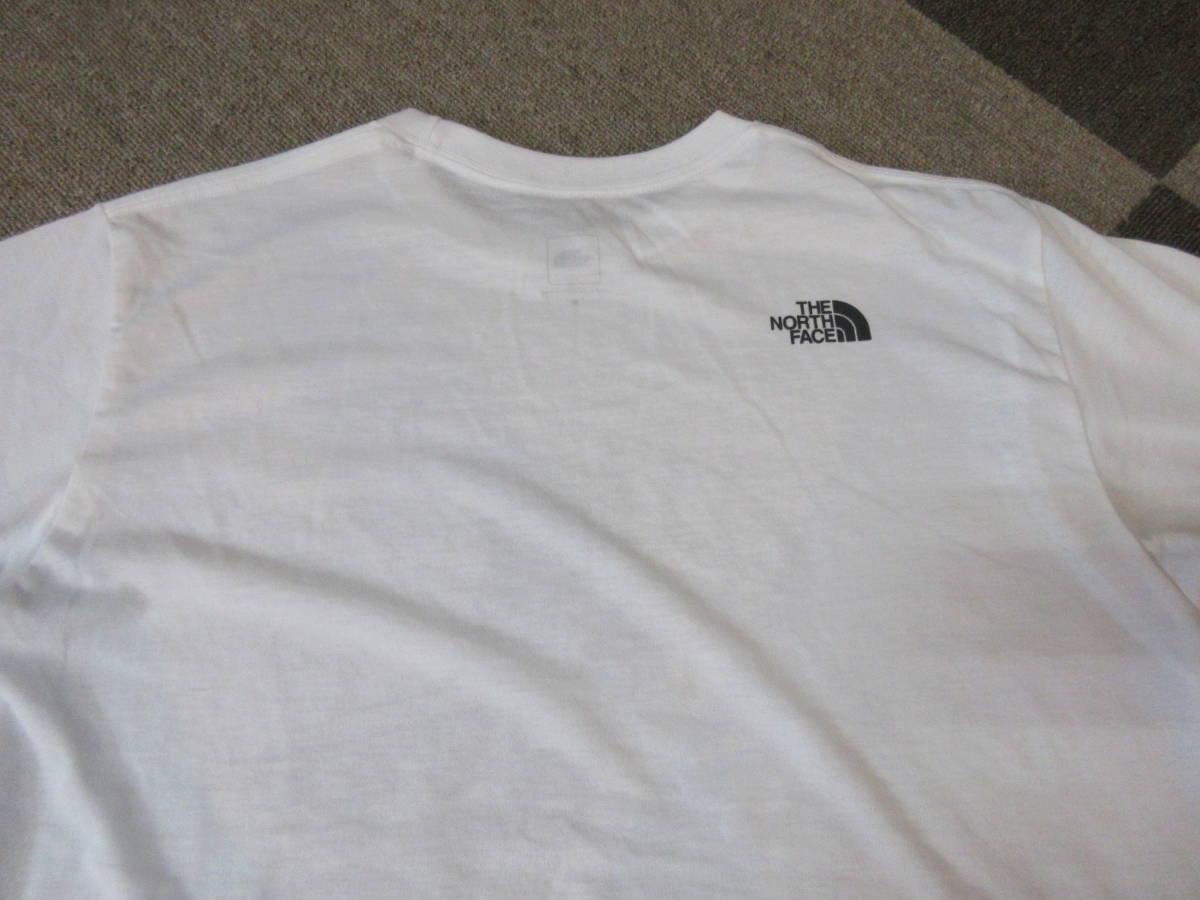 NORTH FACE ポリエステル素材 Tシャツ メンズM 四駆 ゴールドウィン アウトドア クライミング キャンプ カットソー カヌー 速乾_画像10