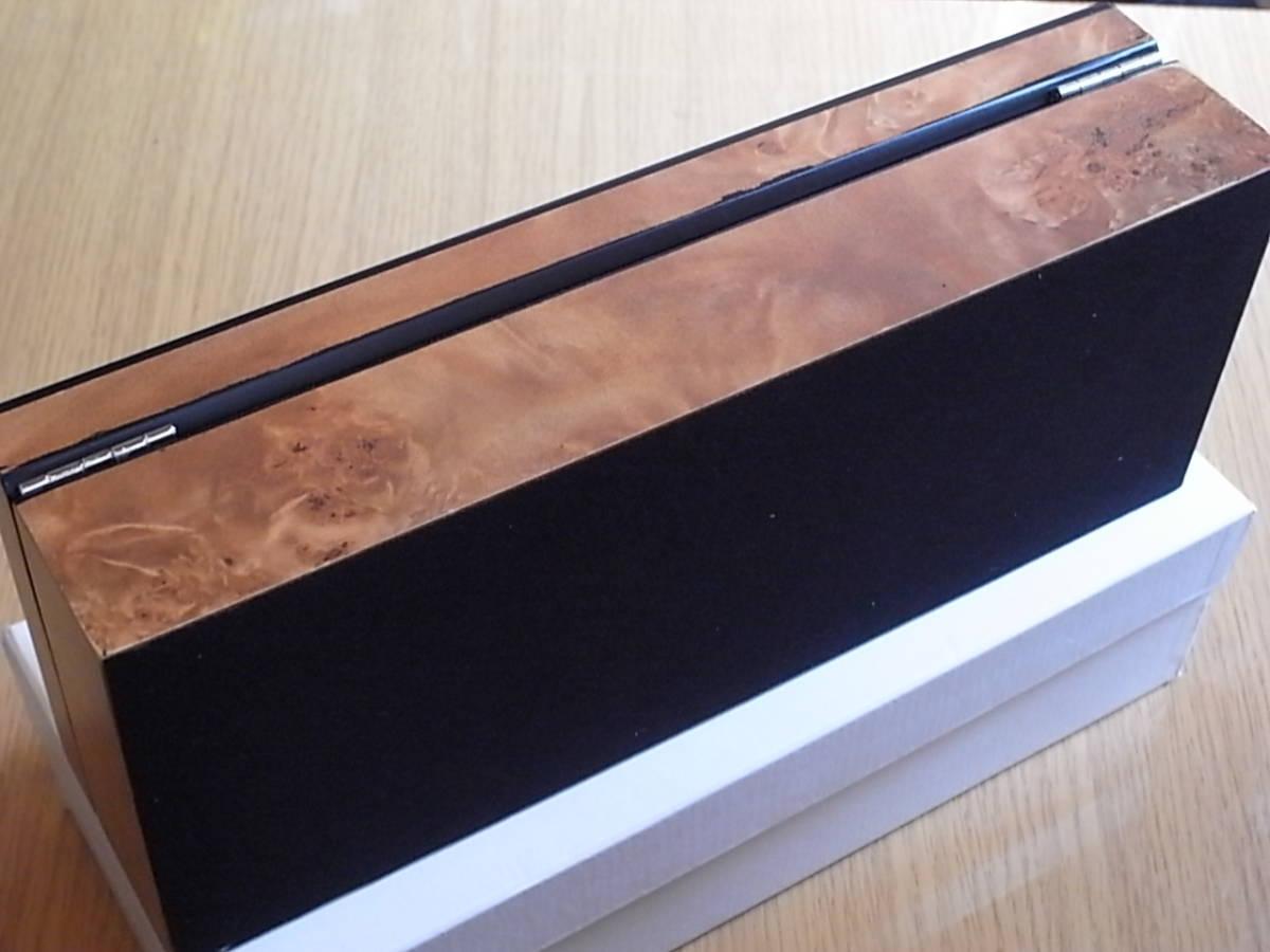 腕時計用 木製コレクションケース 5本収納 時計店の長期在庫品 化粧箱入りデットストック_画像10