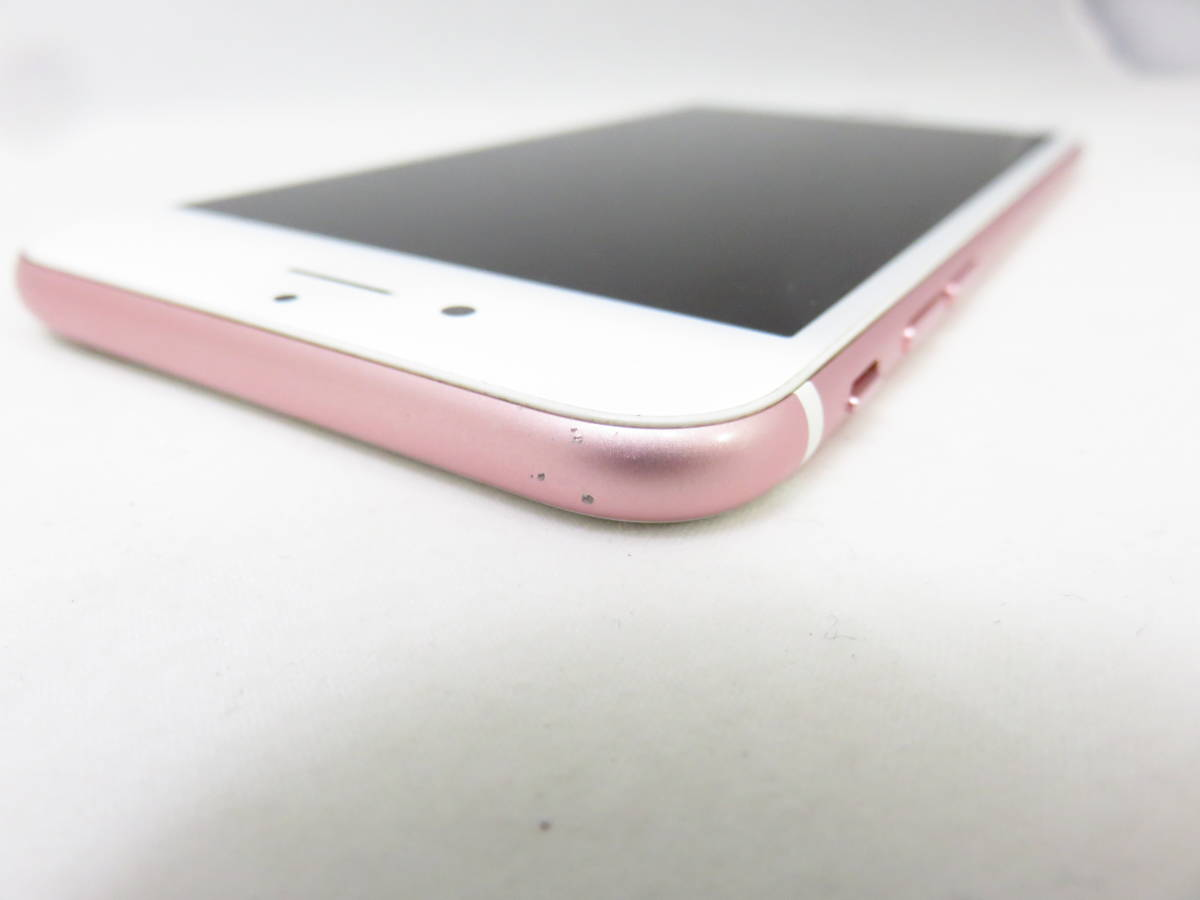 【大黒屋】【中古品】利用制限〇 SIMフリー〇 Softbank ソフトバンク iPhone6S 64GB ピンクゴールド MKQR2J/A _画像7