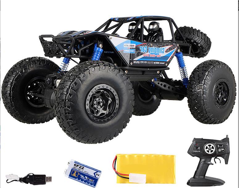 「国内稀少」1:10レーシング オフロードリモコンカー 四輪駆動 ラジコンカー 充電式電池組 四輪駆動 おもちゃ