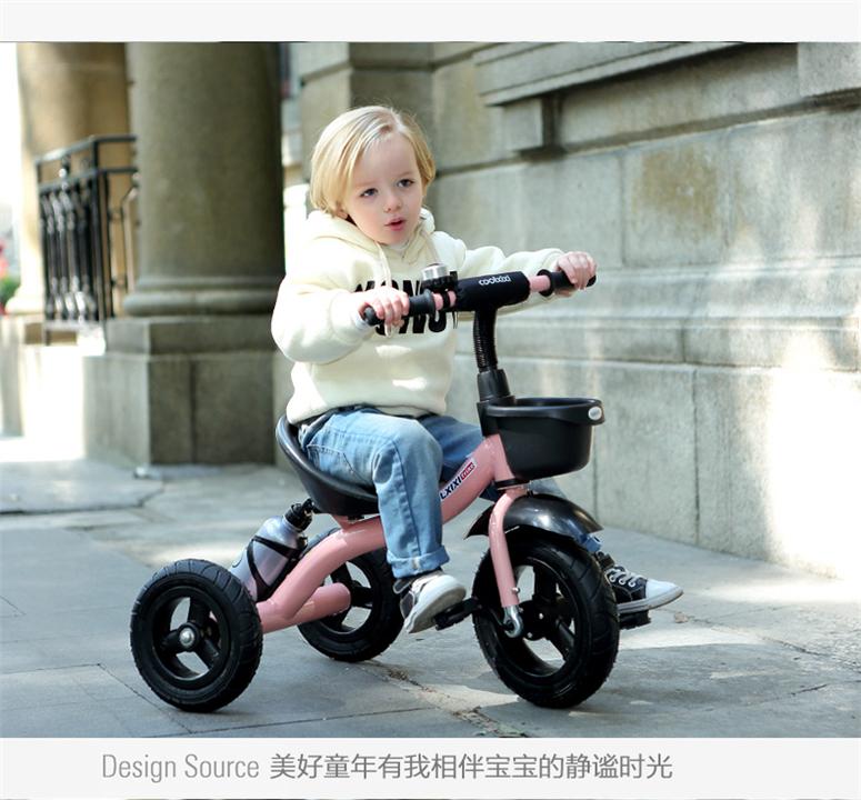 新入荷☆子供用三輪車 おしゃれ バランスバイク プレゼント ペダル付き a4
