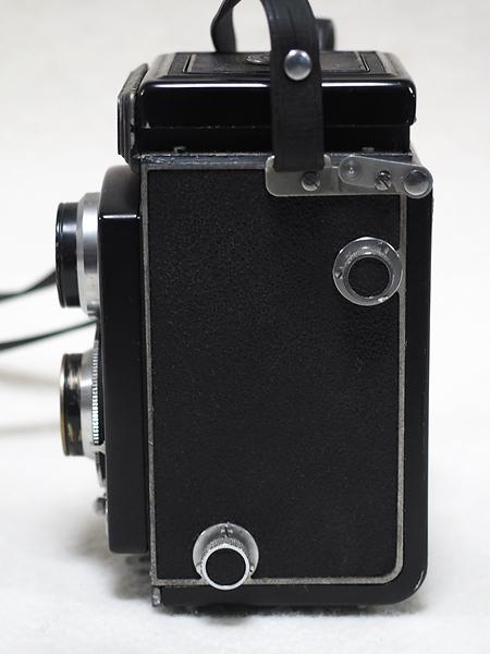 【ジャンク】★2眼レフカメラ AIRESFLEX アイレスフレックス+SEIKOSHA-RAPID F3.5 75mm★_画像5