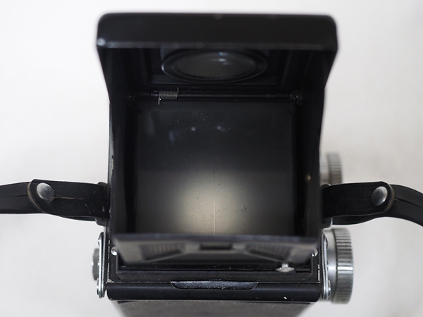 【ジャンク】★2眼レフカメラ AIRESFLEX アイレスフレックス+SEIKOSHA-RAPID F3.5 75mm★_画像9