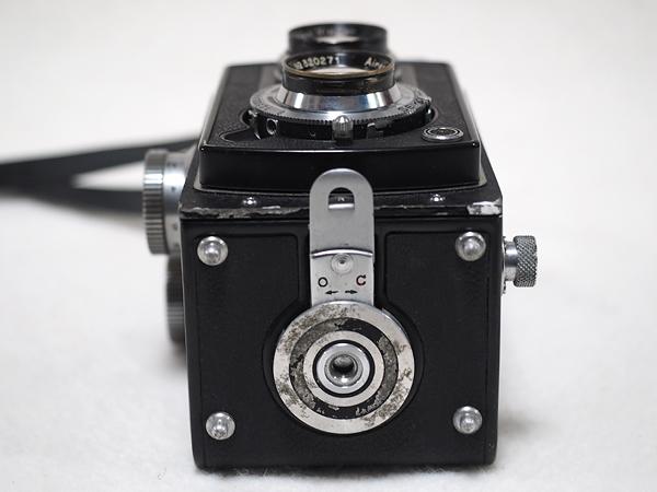 【ジャンク】★2眼レフカメラ AIRESFLEX アイレスフレックス+SEIKOSHA-RAPID F3.5 75mm★_画像10