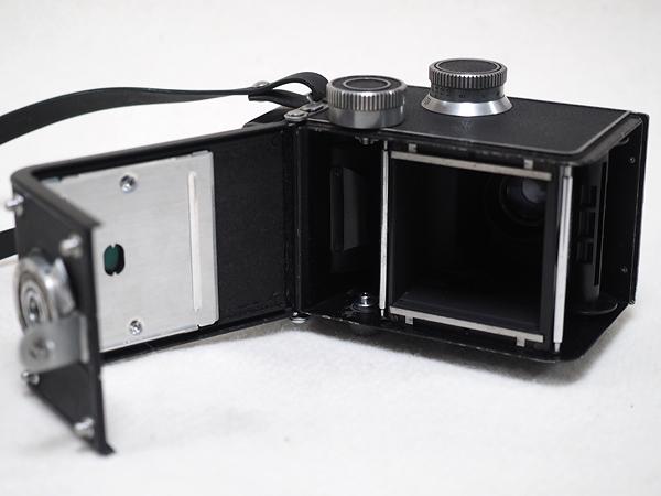 【ジャンク】★2眼レフカメラ AIRESFLEX アイレスフレックス+SEIKOSHA-RAPID F3.5 75mm★_画像7