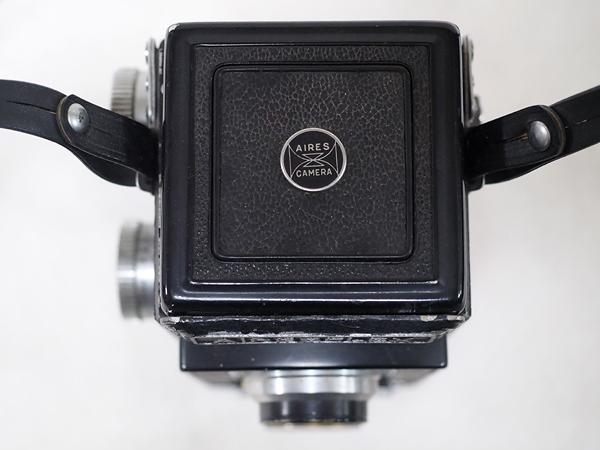 【ジャンク】★2眼レフカメラ AIRESFLEX アイレスフレックス+SEIKOSHA-RAPID F3.5 75mm★_画像8