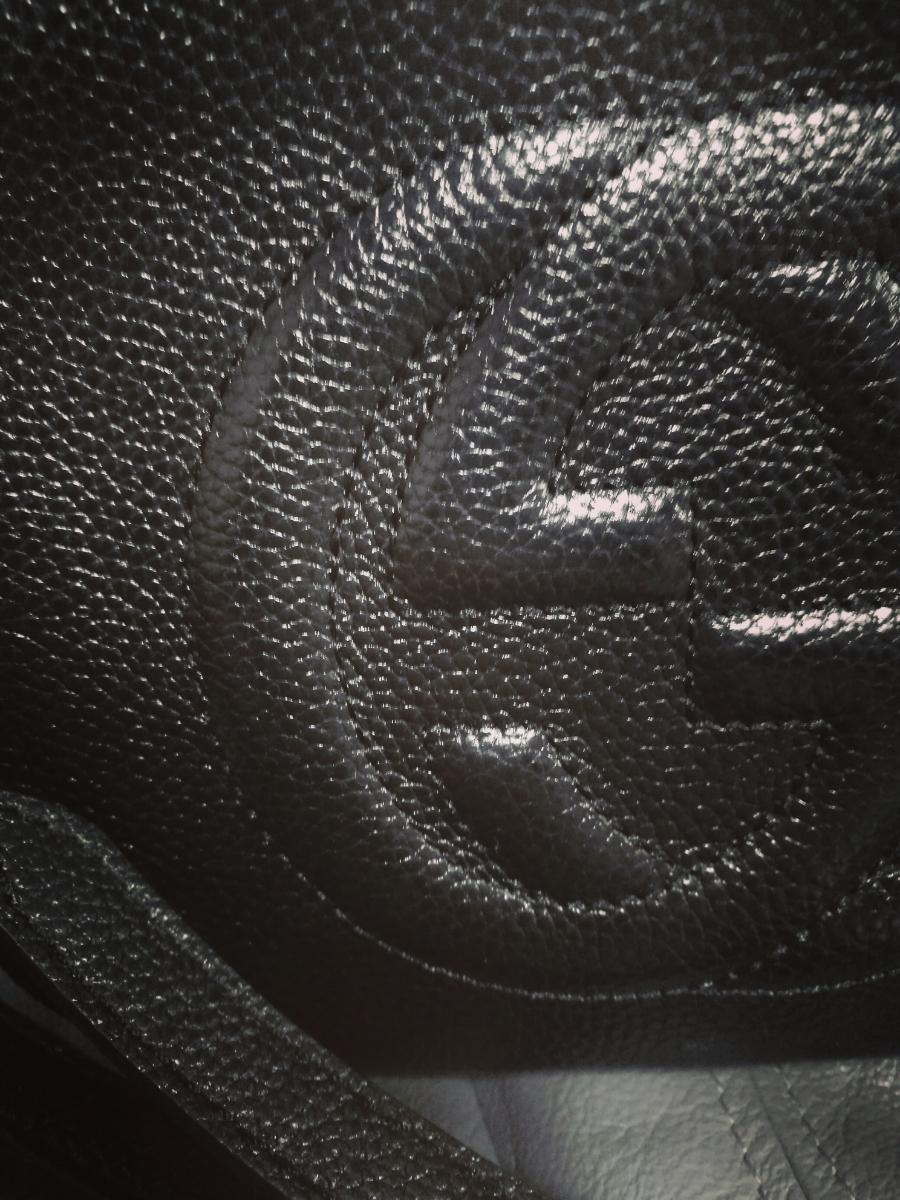 再出品 1円~ GUCCI ソーホーショルダーバッグ gg 黒 / ルイヴィトン celine バレンシアガ ラウンド財布 財布 バッグ バック fendi_画像7