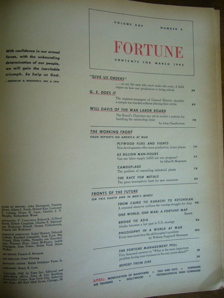 1942年 フォーチュン誌 3月号 _画像4