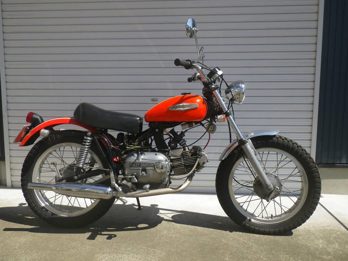 アエルマッキ・250cc・AERMACCHI SPRINT ・ハーレーダビッドソン_画像2