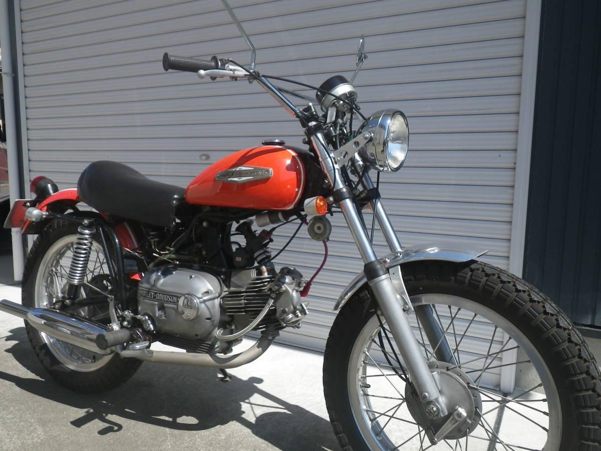 アエルマッキ・250cc・AERMACCHI SPRINT ・ハーレーダビッドソン_画像3