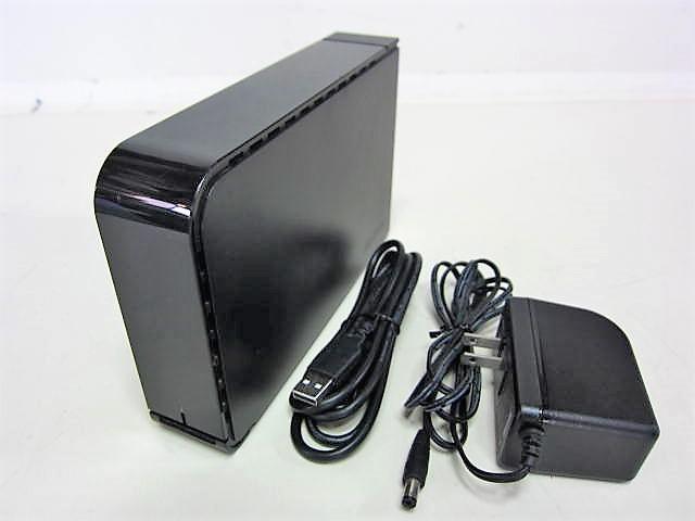 ☆ BUFFALO (HD-LB2.0TU2) 本体・ACアダプター/USBケーブル ☆