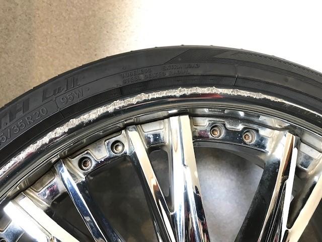20インチ タイヤホイールセット ウェッズ クレンツェ エルアボラ 2ピース  20X9.5J 20x8.5J インセット+34 PCD:114.3 _画像6