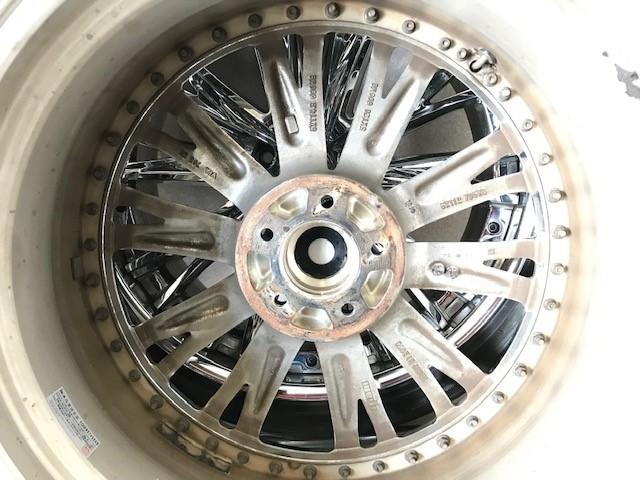 20インチ タイヤホイールセット ウェッズ クレンツェ エルアボラ 2ピース  20X9.5J 20x8.5J インセット+34 PCD:114.3 _画像7