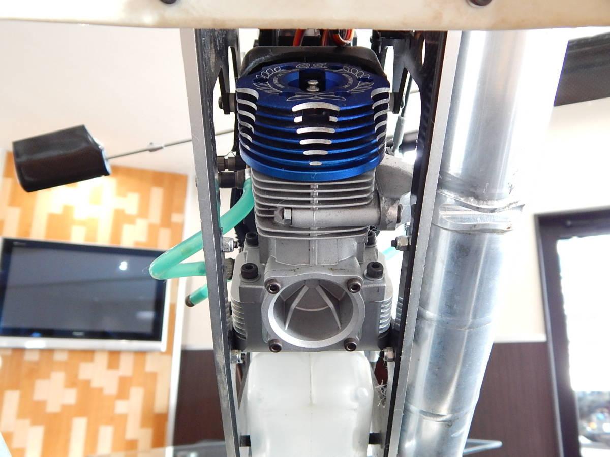 超美品 JR PROPO シルフィード90 競技用ヘリ 完成品 フルセット プロポPCM12X 飛行3回のみ エンジン0S,MAX-91SZ-HRING_画像6