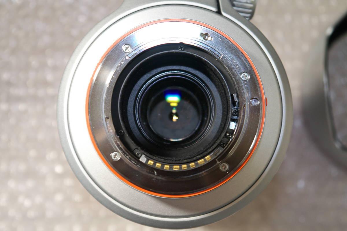 sony α99【SLT-A99V】 と SONY 70-400mm F4-5.6 G SSMシルバー αマウント Aマウント 中古品_画像10
