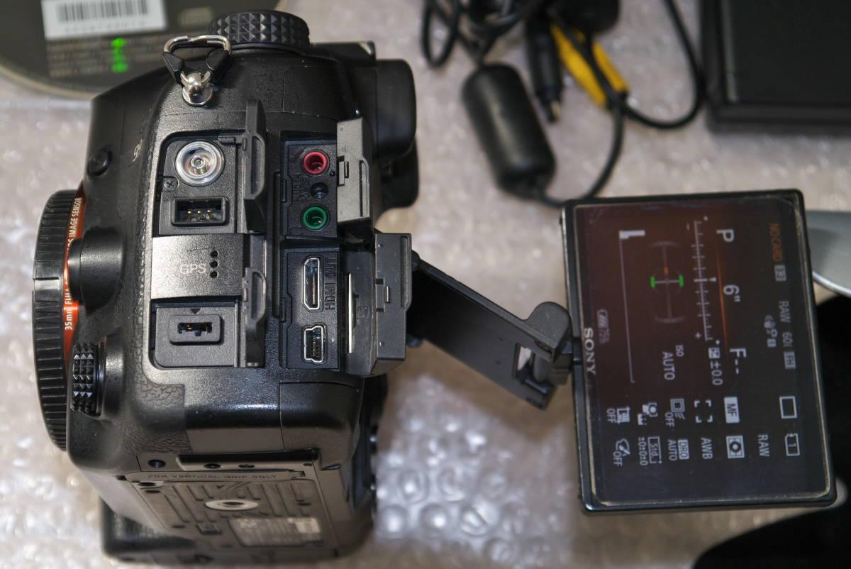 sony α99【SLT-A99V】 と SONY 70-400mm F4-5.6 G SSMシルバー αマウント Aマウント 中古品_画像5