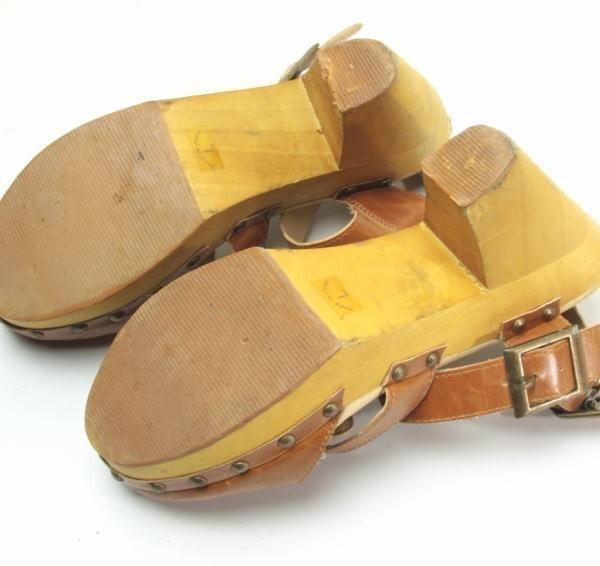 ★ac863☆minia ウェッジ サンダル アーバンリサーチ購入 サイズL ブラウン 茶系 レディースシューズ 靴 厚底_画像3