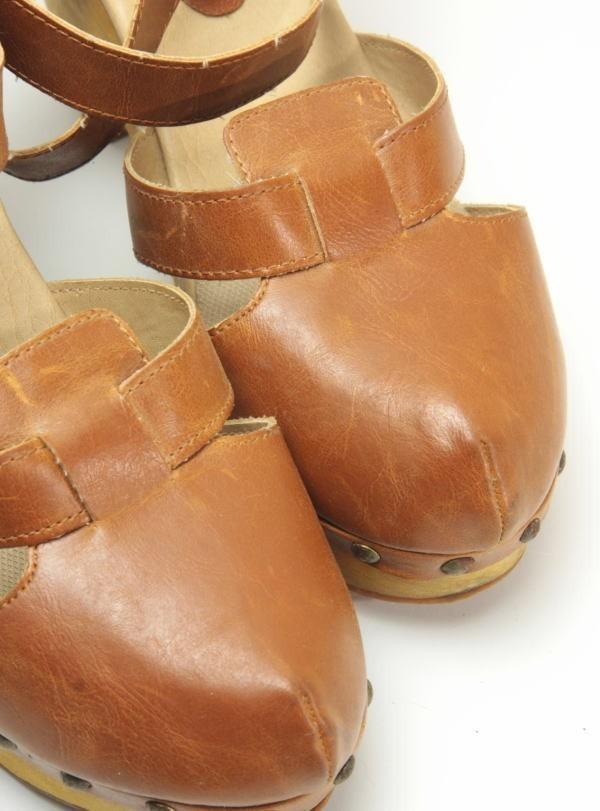 ★ac863☆minia ウェッジ サンダル アーバンリサーチ購入 サイズL ブラウン 茶系 レディースシューズ 靴 厚底_画像5