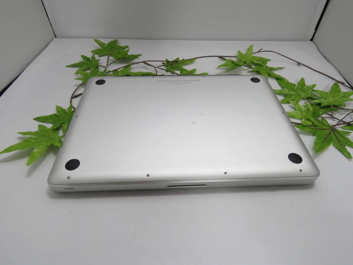 ★良品★限定1台限り MacBook Pro (13-inch, Mid 2012) MD101J/A 最新macOS Mojave 高性能Core i5 2.5GHz 8GB 新品HDD500GB 充放電回数87_画像6